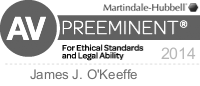 Gentry Locke attorney Jay O'Keeffe is AV-Preeminent Rated