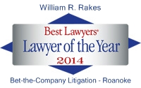 Lawyer of the Year 2014 - Bet-the-Company Litigation