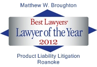 BLIA Lawyer of the Year 2012