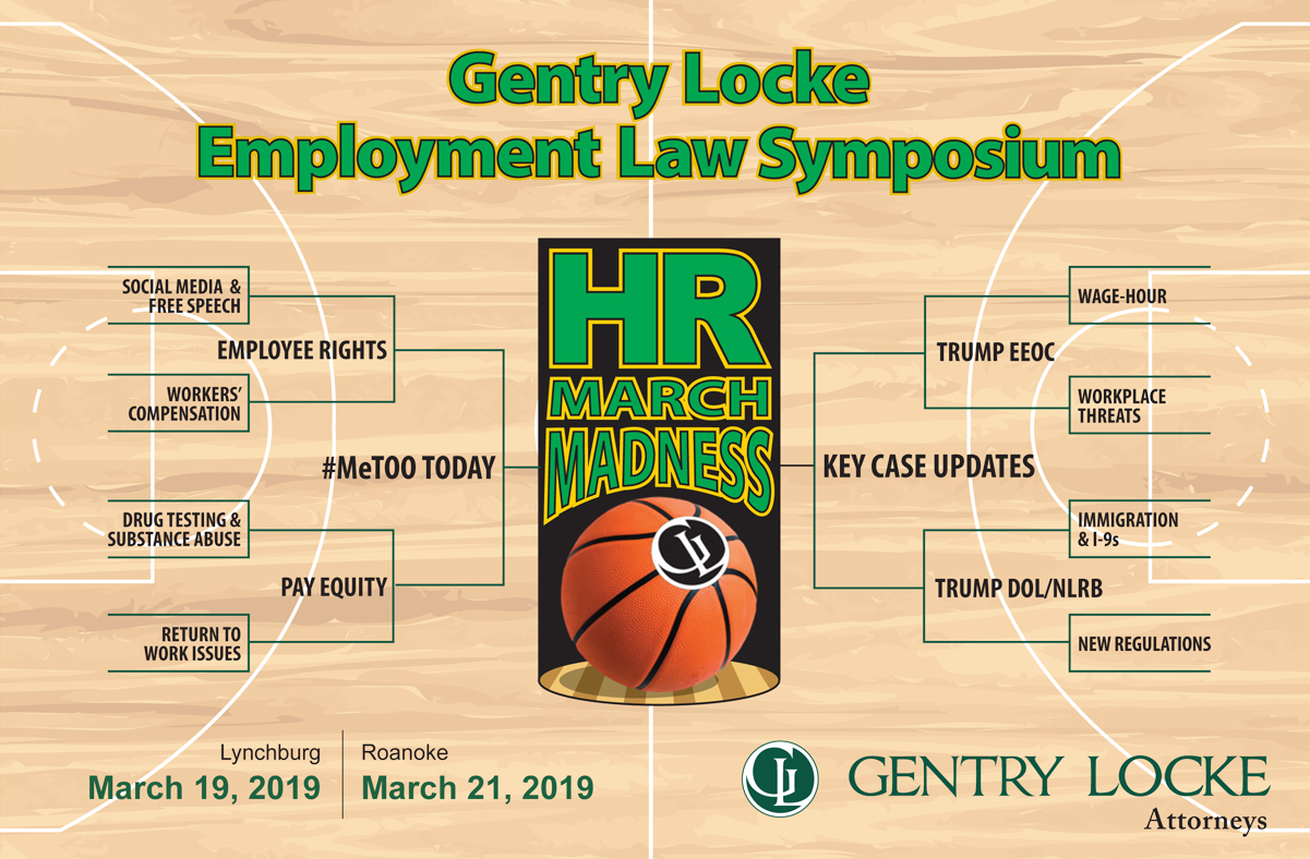 Register for HR March Madness Symposium!