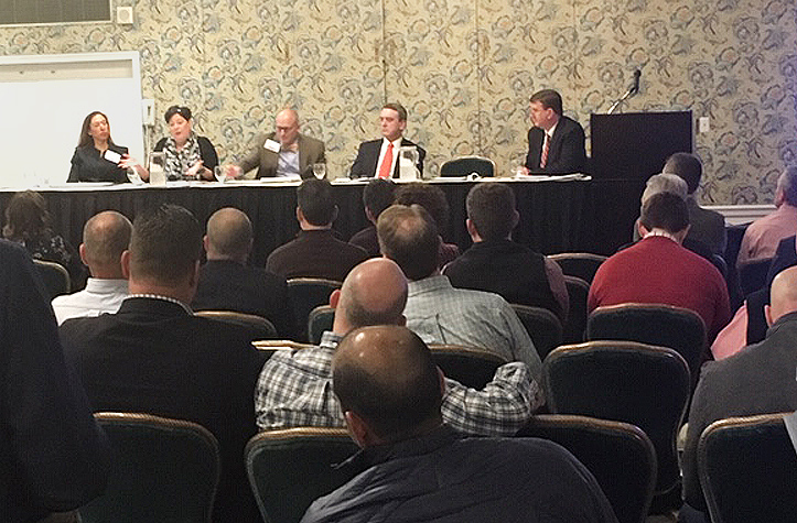 Herschel Keller moderates AGCVA panel